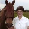 Janee Hughes and her horse